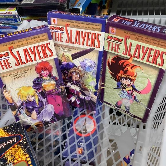 The Slayers Vol. 3,4 & 6